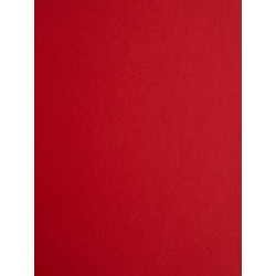Papier peint uni rouge intense - Chantilly - Casadeco
