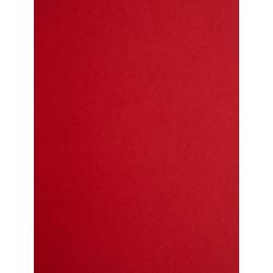 Papier peint uni rouge intense - Chantilly - Casadeco