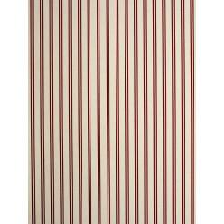 Papier peint à rayures rouge - Chantilly - Casadeco