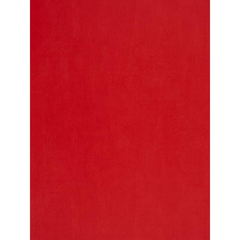 Papier peint Uni rouge - DOUCE NUIT - Casadeco