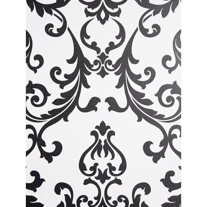 papier peint noir baroque awesome top sans couture papier peint floral noir et blanc image. Black Bedroom Furniture Sets. Home Design Ideas