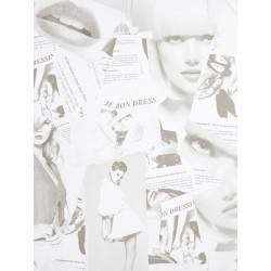 Papier peint à motif Magazines - Love - Caselio