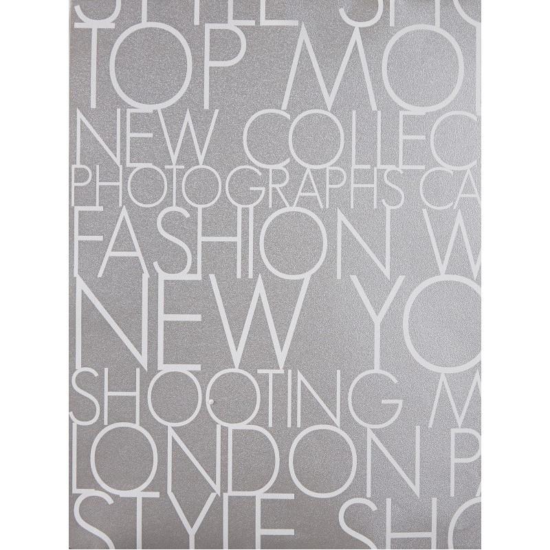 Papier peint à motif Shooting gris/blanc - Love - Caselio