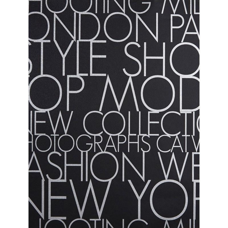 Papier peint à motif Shooting noir/blanc - Love - Caselio