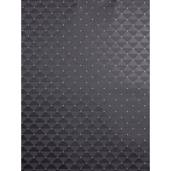 Papier peint à motif Capiton noir - Love - Caselio