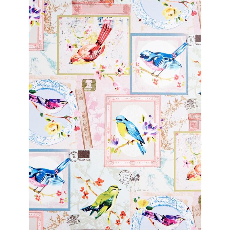 Papier peint à motif Mia - Love - Caselio