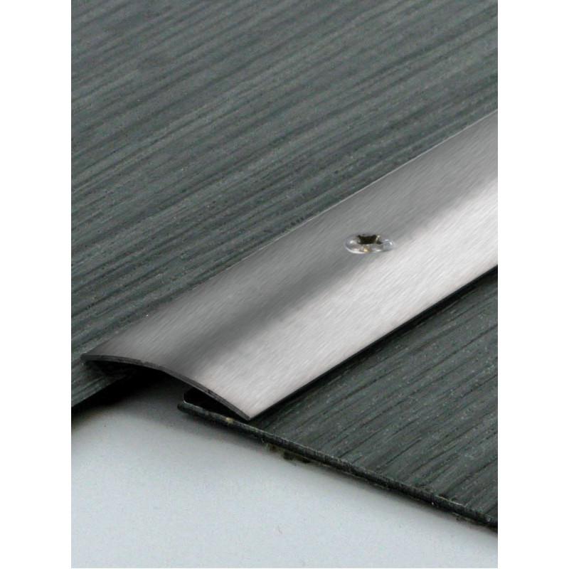 0,83mx30mm - Barre de seuil en inox brossé - à visser Gaminox - DINAC