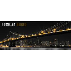 Toile Imprimée Brooklyn Bridge - 40x100cm - Graham & Brown