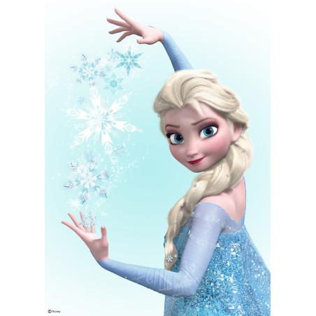 Toile imprimée Elsa : reine des neiges - 50x70cm - Graham & Brown