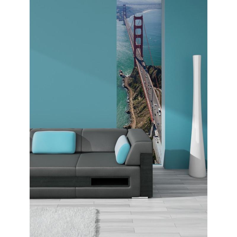 Lé Unique Golden Gate Bridge - 50x250cm - Graham & Brown