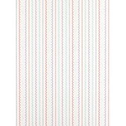Papier Peint à rayures - bleu - Arc-en-ciel - Casadeco