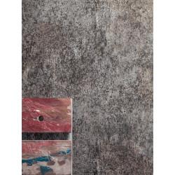 """Papier peint METAPHORE effet """" métal """" par Caselio"""