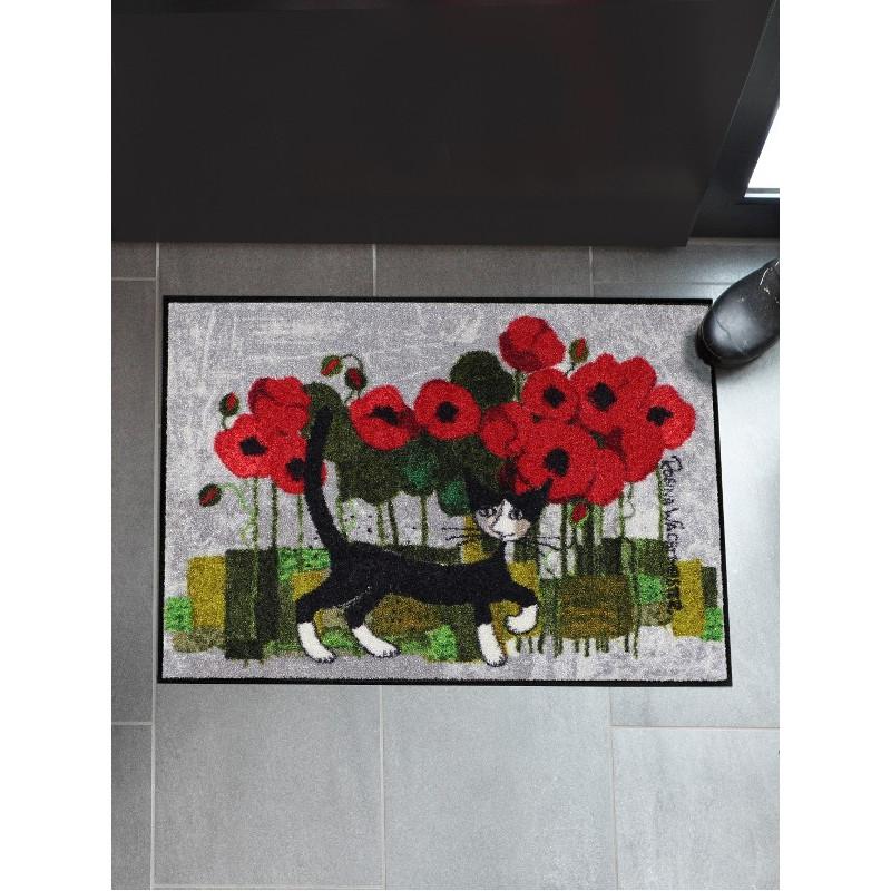 Tapis de propreté - paillasson Poppy Walk - EFIA