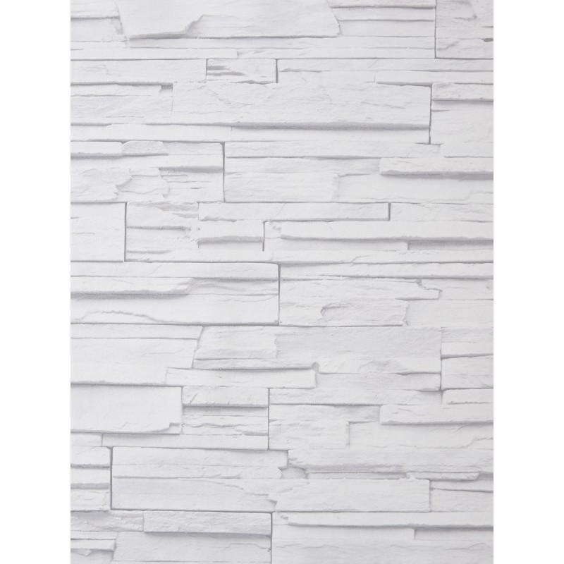 papier peint metaphore effet parement blanc cass par. Black Bedroom Furniture Sets. Home Design Ideas