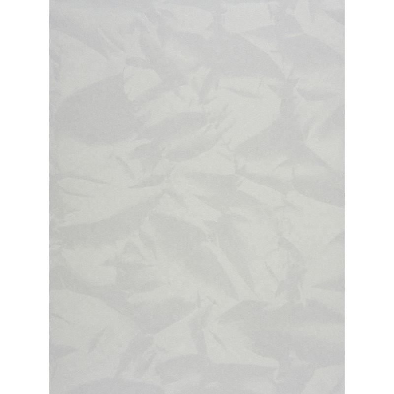 """Papier peint EMPIRE STATE effet """" froissé """" blanc par Casadeco"""