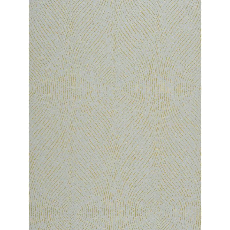 Papier peint empire state effet empreinte jaune par - Sous couche papier peint ...