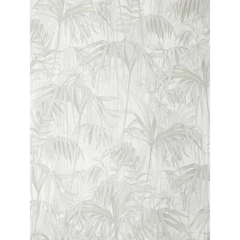 """Papier peint AMAZONIA effet """" forêt """" gris par Caselio"""