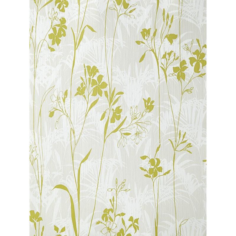 Papier peint Herbier gris et vert - AMAZONIA - Caselio - AMZ66457050