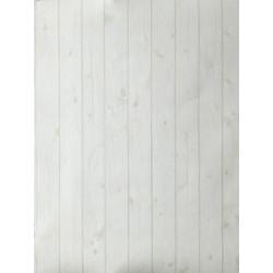 """Papier peint OH LA LA """" bois """" blanc cassé par Caselio"""
