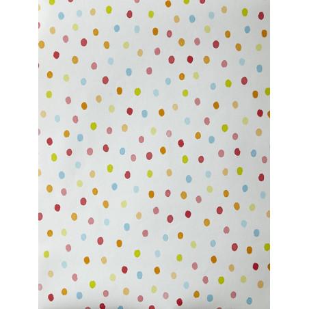 """Papier peint OH LA LA """" Confettis """" multicolore par Caselio"""