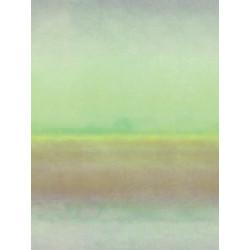 """Panoramique ATELIER """" crépuscule """" vert par Casadeco"""
