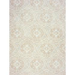 """Papier peint AMAZING """" ornements """" beige/turquoise par Casadeco"""