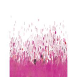 """Panoramique AMAZING """" abstrait """" rose par Casadeco"""