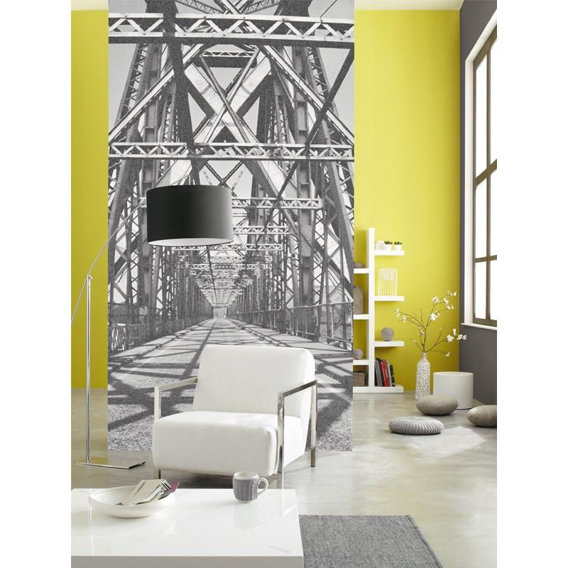 Panoramique intissé Chicago - collection BLACK and WHITE - Caselio