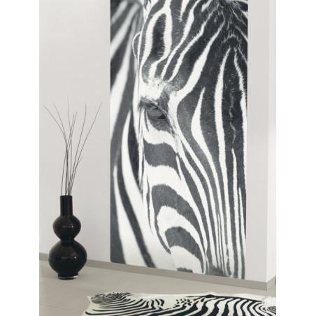 Panoramique intissé Wild - collection BLACK and WHITE - Caselio