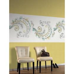 Panoramique intissé Spirales - Collection HARMONY - Casadeco