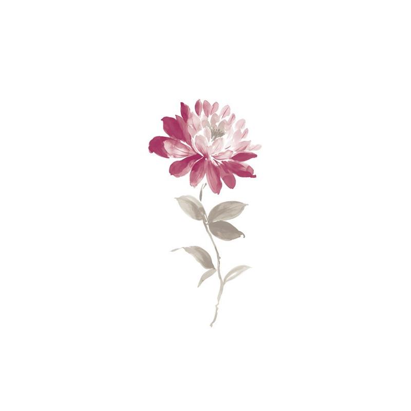 Panoramique intissé Dahlia - Collection SO WALL Floral - Casadeco