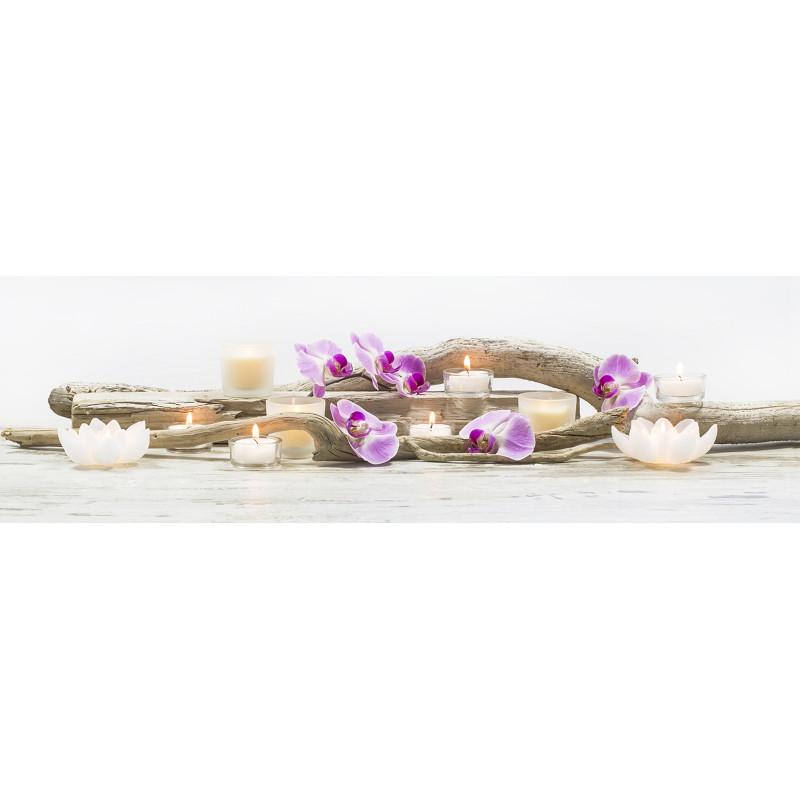 Toile Led Orchidées - 45x140cm - Graham & Brown