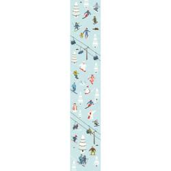 Lé unique SNOWBOARD pré encollé pour pose facile - Collection originale ACCENT - Caselio