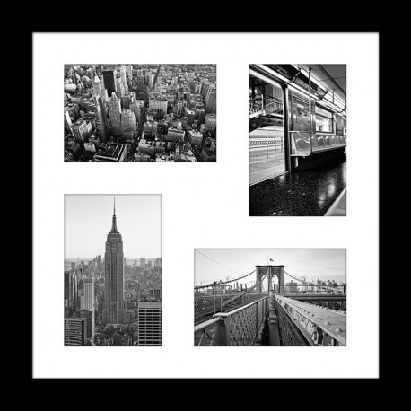 Cadre Multiphotos Manhattan - 38x38 cm - Graham & Brown