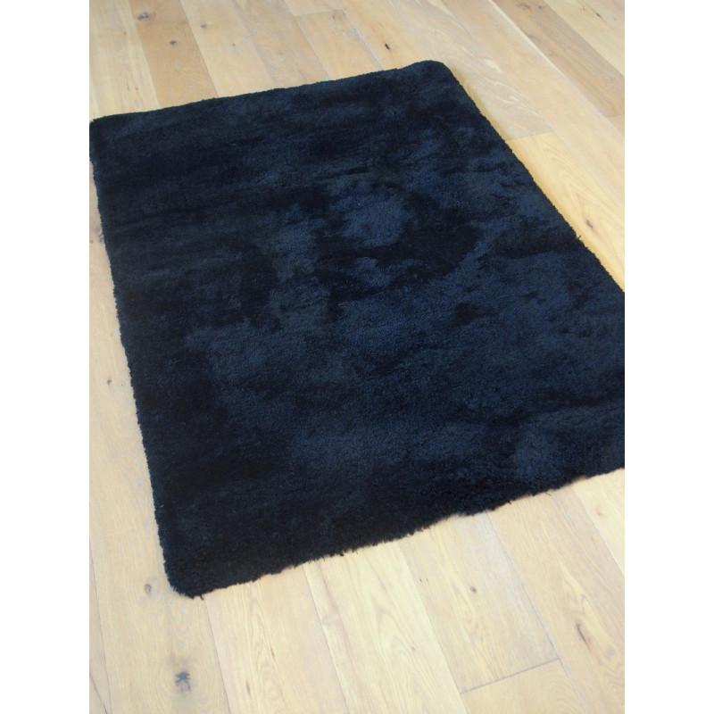Tapis Shaggy Como - 115x160 cm - Noir