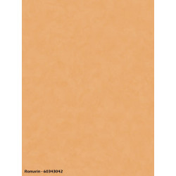 Papier peint uni orange terre - ROMARIN - Caselio