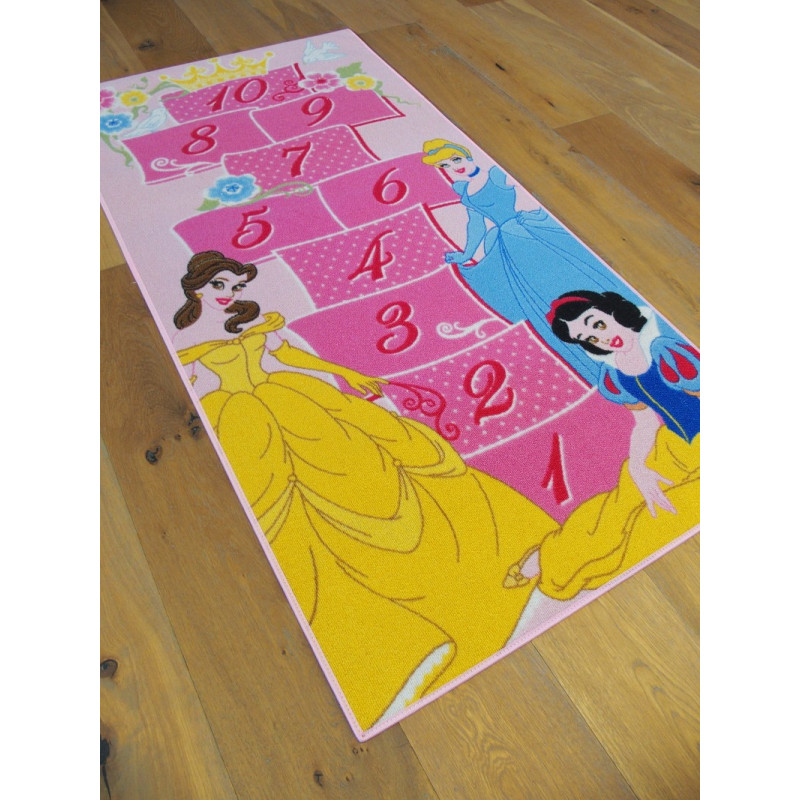 tapis disney enfant princesses marelle royale 80x160cm. Black Bedroom Furniture Sets. Home Design Ideas
