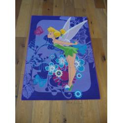 Tapis Disney Enfant - Tinker Bell : la fée clochette - 95x133cm