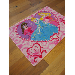 Tapis Disney Enfant - Princesses Jewels - 95x133cm