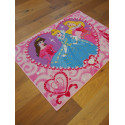 Tapis Disney Enfant - Princesses Jewels - 95x133cm
