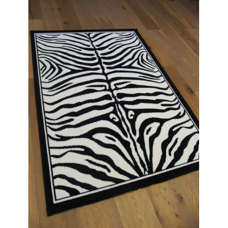 Tapis zébré noir et blanc - Out Of Africa