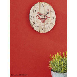 Papier peint Uni rouge intense - ROMARIN - Caselio