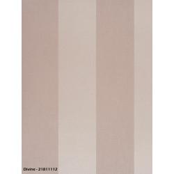 Papier peint à rayures grises - DIVINE - Casadeco
