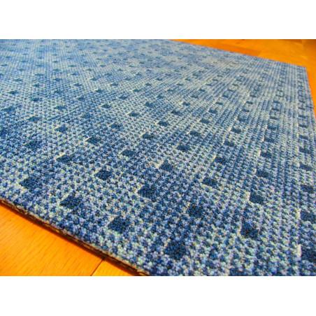 Dalle de moquette Monolight - Motif design moderne bleu