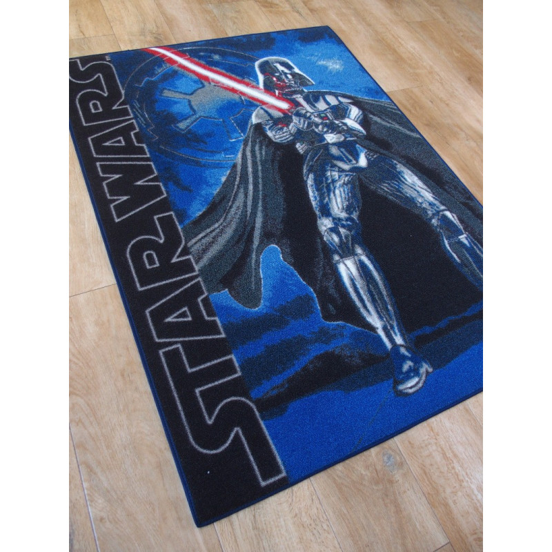 tapis disney enfant star wars 95x133cm. Black Bedroom Furniture Sets. Home Design Ideas