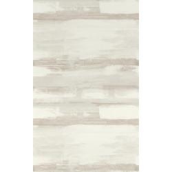 Papier peint à rayures ZAO - Effet peinture beige/taupe