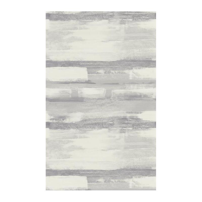 Papier peint rayures zao effet peinture noir gris - Peinture a effet gris ...