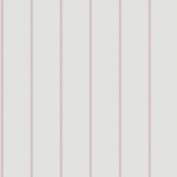 Papier peint Rayures pois violet - ALICE ET PAUL - Casadeco - AEP18905142