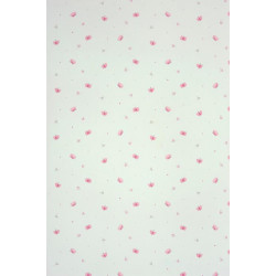 Papier peint Papillons rose - ALICE ET PAUL - Casadeco - AEP28034413