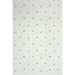 Papier peint Papillons violet - ALICE ET PAUL - Casadeco - AEP28035406